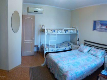 Гостиница №1 – 4х местный номер