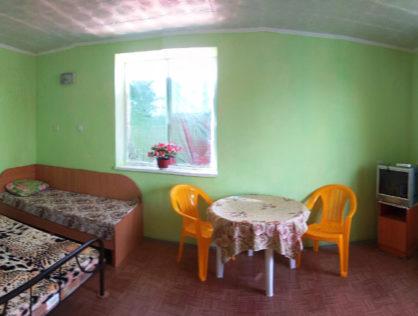 Комфорт класс №11 – 5ти местный номер [2 комнаты, свой туалет]
